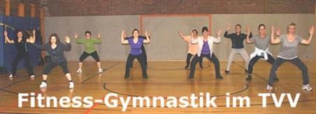 Sportbetrieb - Training der Fitness-Gymnastik-Gruppe