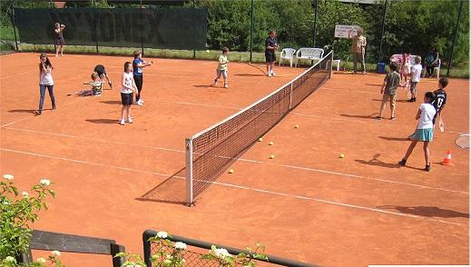 Training der Kids des Tennisvereins Aachen-Vaalserquartier