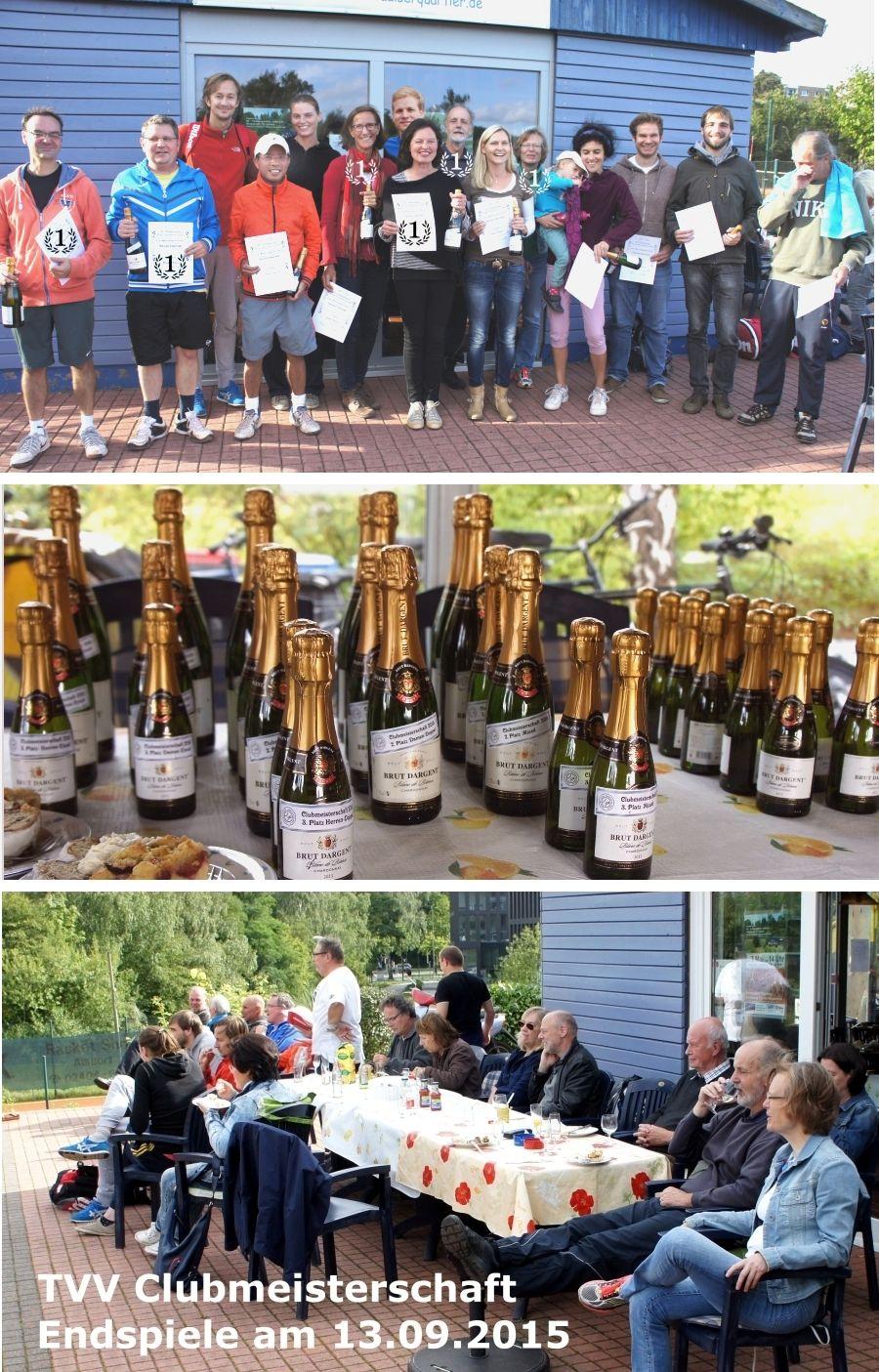 Endspiele und Siegerehrung der Clubmeisterschaften 2015