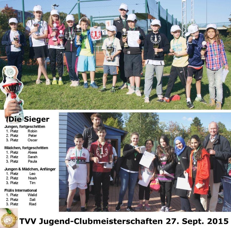 Jugend-Clubmeisterschaften 2015