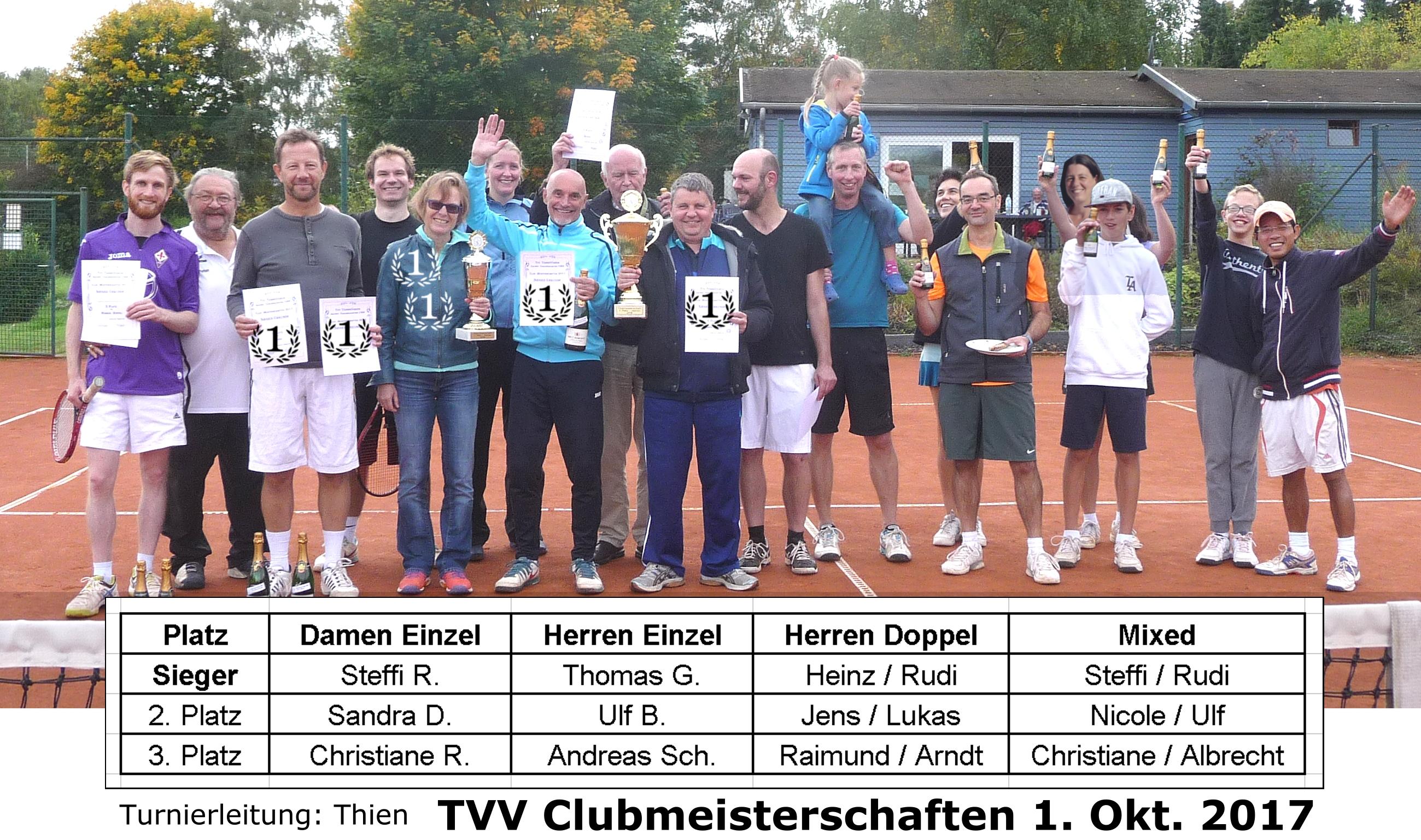 Clubmeisterschaften 2017
