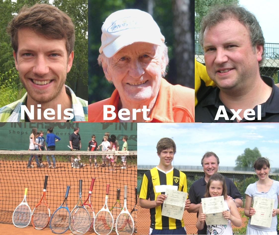 Tennistraining und Tennistrainer im Tennisverein Aachen-Vaalserquartier