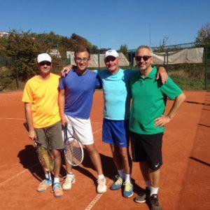 Herren-Doppel Match-Foto