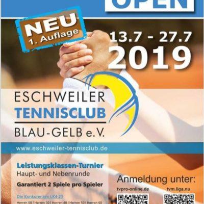 LK-Turnier beim Eschweiler TC Blau-Gelb